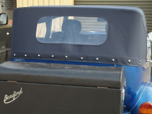 Beauford Cabriolet Folding Roof