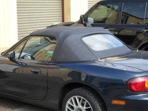 Mazda MX5 Folding cabriolet roof