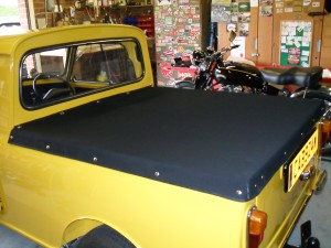 Mini pickup complete interior and exterior retrim as featured in Mini World magazine